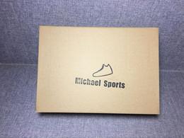 2019 двойная упаковка Michael Sports Двойной бокс для кроссовок ePacket Почта Гонконга Обычный способ доставки дешево двойная упаковка