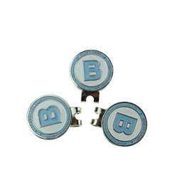 Wholesale Wholesale Golf Hat Clips - Wholesale- 3pcs lot High Quality Golf Hat Cap Clips with Golf Ball Markers