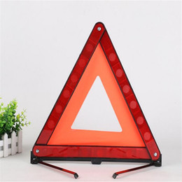 Wholesale Emergency Warning Triangle - 17 inch Early Warning Road Safety Triangle Emergency Kit Foldable For Car Auto