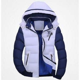 Wholesale Handsome Man Coat - Wholesale- New 2016 Brand Winter Jacket Men Warm Down Jacket Casual Parka Men padded Winter Jacket Casual Handsome Winter Coat Men