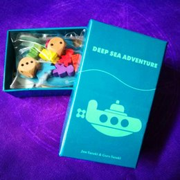 Wholesale Best Funny Gifts - Deep Sea Adventure Board Game with English Instructions Funny Cards Game 2-6 Players Family Party Game For Children Best Gift