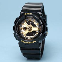 Wholesale Digital Watch Girl Women - Fashion Men Women watch wristwatch baby watch all functions with water resistant girl g 110 LED watch sport Original box