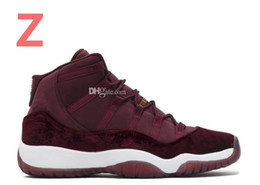 Wholesale Basketball C - 2017 new retro 11 basketball shoes Space Jam Metallic Gold mens sneaker navy blue discount shoes Varsity Red Closing Ceremony athletics