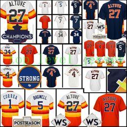 Wholesale Cheap Army Shorts - Cheap #27 Jose Altuve jersey Men 1 Carlos Correa 4 George Springer 34 Nolan Ryan5 Jeff Bagwell 7 Biggio Baseball jerseys
