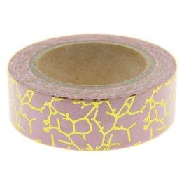 Wholesale Foil Japanese - Wholesale- 2016 Foil Washi Tape Set Japanese Stationery Scrapbooking Decorative Tapes Adhesive Tape Kawai Fita Adesiva Decorativa Photo Al