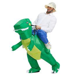 Argentina Disfraz de dinosaurio inflable disfraces Disfraz de poliéster impermeables Disfraces de Halloween trajes lindo diseño Suministro