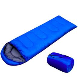 Wholesale Down Sleeping Bag Adult - Outdoor Sleeping Lazy Bag Camping Laybag Adult Portable Hiking Envelope keep Warm Sleeping Bags Travel Hiking Equipment