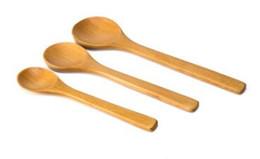 Wholesale Wooden Salt Spoons Wholesale - 2017 Newest Solid Small Wooden Kid Baby Feeding Spoon  salt spoon coffee spoon baby spoons