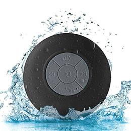 Wholesale water proof mp3 speakers - High Sound Quality Water Proof Bluetooth Speaker Mini Bathroom Wireless Shower Speaker Handsfree Portable Speakerphone For iPhone Samsung