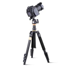 Wholesale Video Camera Quick Release Plate - Professional photographer 55 Inches Aluminum Alloy Camera Video Tripod Monopod With Quick Release Plate
