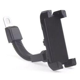 Wholesale Gps Navigator For Motorcycle - Car mobile phone bracket for motorcycle bracket fixed GPS navigator mobile phone bracket iPhone Samsung mobile phone universal