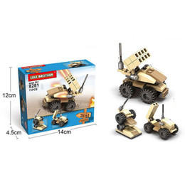 Wholesale Smallest Motorcycle Toy - Hot-selling children's puzzle early childhood teaching small pieces of assembled pieces of military full range of spells inserted plastic en
