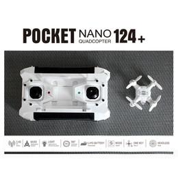 Wholesale Diy Nano - SBEGO 124+ Pocket elves four - axis aircraft nano drone DIY mini drone camera kids toys quadrocopter