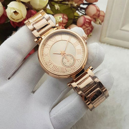 Wholesale Rose Quartz For Men - luxury brand men women watches unisex Full dress Stainless Steel band Fashion quartz rose gold watch for ladies mens Valentine Gift relogios