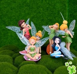 Wholesale Wholesale Gardening Supplies - Fairy for fairy garden 6pcs lot Fairy Garden Supply Miniature bonsai ornament