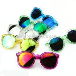 Wholesale Baby Toy Frame - 2016 new fashion childrens sunglasses kids girls summer glasses baby Accessories colors mixed baby toys