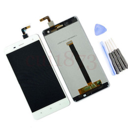 Wholesale Resistive Lcd Touch - Wholesale- Brand new!!Texted good qulaity White For Xiaomi Mi4 Mi-4 M4 Lcd Display Touch Screen Digitizer Assembly with tool tracking code
