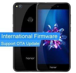 Wholesale Huawei Phone 4gb Ram - Original Huawei Honor 8 Lite 4GB RAM 64GB ROM Mobile Phone 5.2 Inch Tablet 1920x1080p 3000mAh 12.0MP Camera Kirin 655 Octa Core In Stock