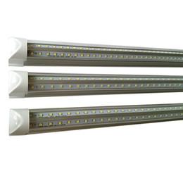 Energia doméstica on-line-V-forma 2ft 3ft 4ft 5ft 6ft 8ft led luzes do tubo T8 Luzes Fluorescentes Integradas Room Cooler Casa Levou Lâmpada De Poupança De Energia