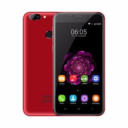 Wholesale Ips Fhd - OUKITEL U20 Plus 4Glte Smartphone 5.5 IPS FHD 1080P Android 6.0 Quad Core Cellphone 2GB RAM 16GB ROM 13.0MP Fingerprint ID Mobile Phones