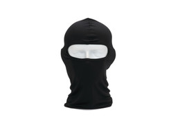 Wholesale Winter Thermals For Women - Hot Sale Women Men Thermal Swat Ski Winter Balaclava Hood Stopper Face Mask For Skullies Beanies Outdoor Sports Windproof Hat