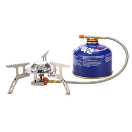 Wholesale Portable Cooking Gas - AT6303 Portable Split Type Gas Stove Picnic Furnace Outdoor Camping Cooking