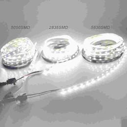 led-streifen für aquarium Rabatt 5M LED Streifen IP20 SMD3528 5050 5630 300leds RGB LED Streifen Band Band Licht Warm Cool White Decken Bar Counter Kabinett Licht