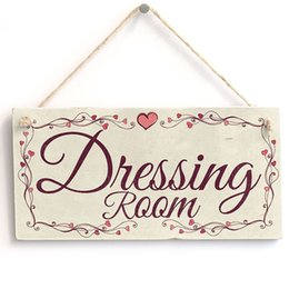 "Wholesale Plaque Designs - Meijiafei Dressing Room - Heart Design style Vintage PVC hanging wall Sign   Plaque home decoration Plaque10""x5"""