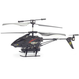 Wholesale Kids Helicopter Camera - S977 3.5 CH Radio Remote Control RC Metal Gyro Helicopter with Camera Airplane
