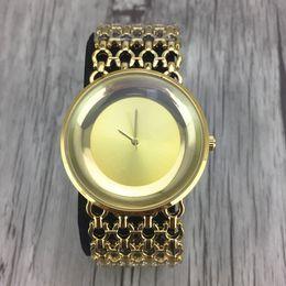Wholesale Women Rhinestone Waterproof Watch - Ladies Gold Watch Women Golden Clock for Female GS Top Luxury Brand Women Dress Rhinestone Quartz Waterproof Watches Feminine