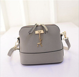 Wholesale New Products Grains - 2017 new products, cross grain small deer, shell bag, fashion lady, single shoulder fashion trend women cross bag