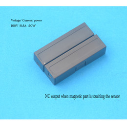 alarmes windows Promotion Vente en gros- 5 pcs MC-44B NC surface interrupteur magnétique interrupteur pour porte et fenêtre capteur pour alarme de sécurité à la maison système d'alarme antivol