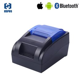 Wholesale Pos Printers - wholesale cheap pos 58mm thermal receipt bluetooth android ios printer support multi-language HS-58HUAI receipt printer