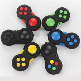 giocattoli pad Sconti 6 colori Fidget Pad di seconda generazione Fidget Cube fidget gambo della mano Adulti Bambini Novità giocattoli OTH425