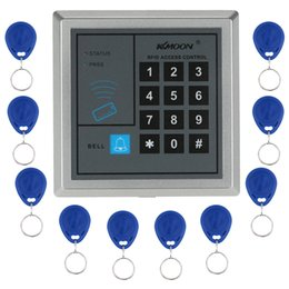 Wholesale Wireless Door Access Control - RFID Proximity Entry Door Lock Access Control System + 10 Key Fobs H4362