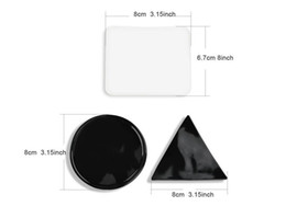 Wholesale wholesale gel stickers - 2017 Best Selling Super Powerful Gel Sticky Pad Car Phone Holder Sticker Strong Stick Glue Wall