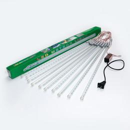 Canada En gros haute luminosité SMD5050 LED météore douche pluie tubes 10 pcs / ensemble pour les projets d'ingénierie fête décoration de noël vacances de noël Offre
