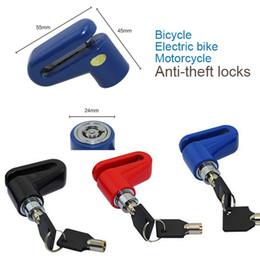 пластиковые велосипедные педали Скидка Anti theft дисковый дисковый тормоз Ротор блокировки для скутер велосипед мотоцикл SafetyLock для скутер мотоцикл велосипед безопасности