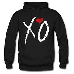 Wholesale Long Sleeve Diy - 2017 long Sweater Wendo Men's and Women's Hoodie Personalized Custom DIY design The Weeknd Xo Classic