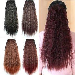 Sara Drawstring Ponytails Extension de cheveux queue de cheval frisée profonde Kinky ? partir de fabricateur