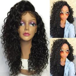 2017 Yan Kısmı En Satış Kısa Doğal Siyah Afrika Peruk Kıvırcık Siyah Kadınlar Için Tam Dantel İnsan Saç Peruk cheap sale women wigs nereden satış kadın perukları tedarikçiler