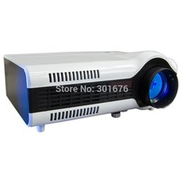 Wholesale 3d Projector Cheap - Wholesale-Authentic projector china LED cheap 720P1080P Multimedia Projector 3D Proyector HD USB HDMI Interface For Home Theater