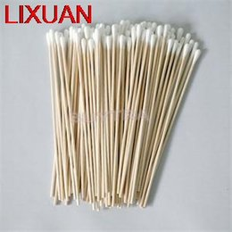 Wholesale Wood Cotton Swabs - Wholesale- LIXUAN 100pcs Women Beauty Makeup Cotton Swab Cotton Buds Nose Ears Cleaning Make Up Wood Sticks Cosmetics Health Care