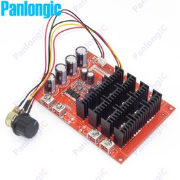 Wholesale High Speed Motors - NEW 10-50V 60A DC Motor Speed Control PWM HHO RC Controller 12V 24V 48V 3000W MAX High Quality Free Shipping