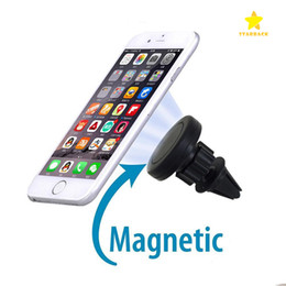 Wholesale Fast Snaps - Universal Air Vent Magnetic Car Mount for Cellphone and Mini Tablet with Fast Swift-Snap Technology Magnetic Cellphone Holders