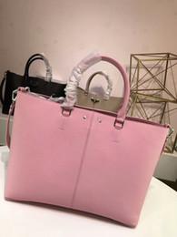 Wholesale Black Leather Cross Body Purse - Fashion women handbag crossbody messenger bag tote purse real leather shoulder bag 3 colors best quality