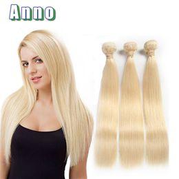 Wholesale Hair 613 - Blonde Brazilian Virgin Hair Straight 3 Bundles 613 Brazilian Straight Blonde Hair 8A Brazilian Virgin Hair Weave Straight