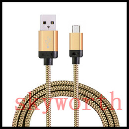 Wholesale Universal Extension Cord - Good Quality 1M 3Ft 2M 6Ft 3M 10ft Micro usb V8 Fabric Braided Nylon Sync Cloth Universal Cord Extra Long Extension For Samsung