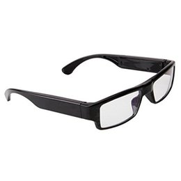 Wholesale Hd Eyeglass Camcorder - 1080P HD SPY Eyewear Camera Video Eyeglass DVR Mini DV Video Recorder Portable Glasses Camcorder Without Pinhole Free Shipping