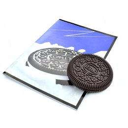 Wholesale Oreo Cookies - 2017 New Magic Props Oreo Cookie Trick Biscuit Bitten& Restored Street Gimmick Close Up Magic Toys Wholesale
